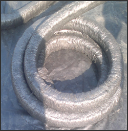 Graphite Lubricated Ceramic Fiber Rope